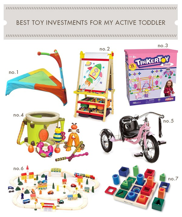 Toys For Active Toddlers : My best toy investments for active toddler amy s art